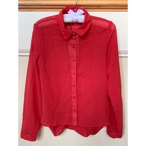 Charlotte Russe Long Sleeve Blouse